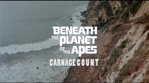 How Many Kills in Beneath the Planet of the Apes (1970)