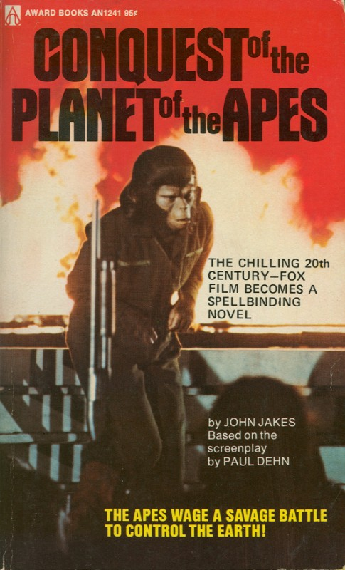 Conquest of the Planet of the Apes (Novelization)