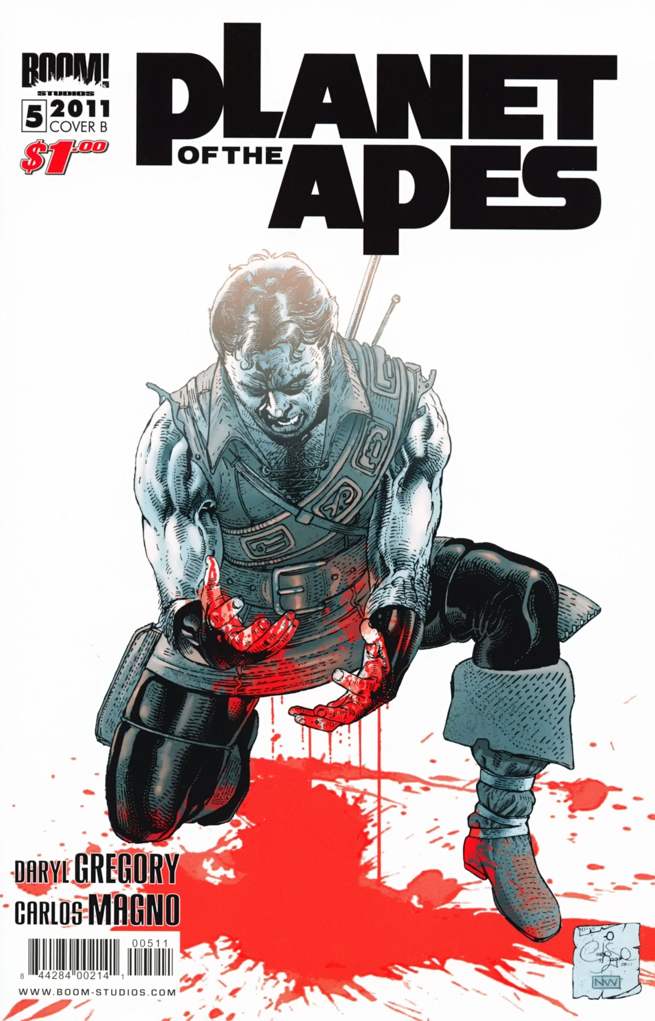 Planet of the Apes (BOOM! Studios) 5