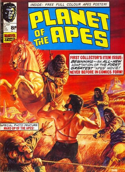 Marvel UK Comic Cover Gallery