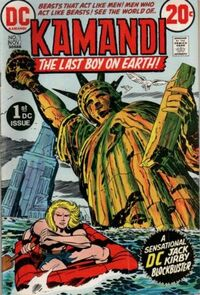 Jack Kirby's 'Kamandi: The Last Boy on Earth' (1972)