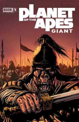 Planet of the Apes Giant 1 (BOOM! Studios)