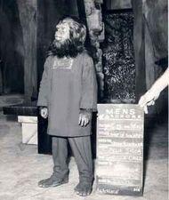 Felix Silla in 'Gorilla Child' costume test
