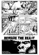 'Beware The Beast'; illustration by Neil T. Foster