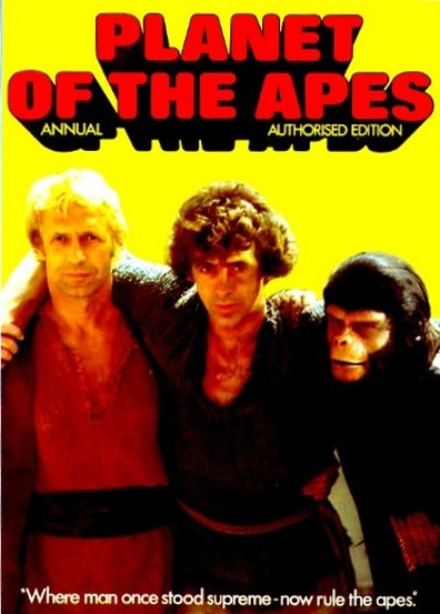 Brown & Watson 'Planet of the Apes' Annual, 1976