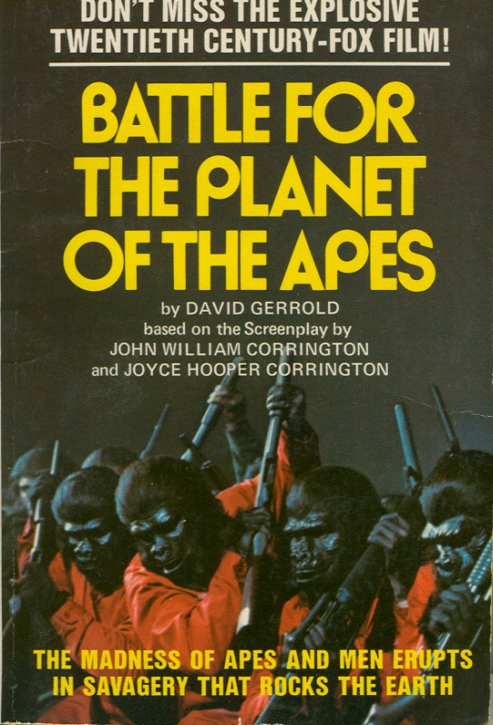 Battle for the Planet of the Apes (Novelization)