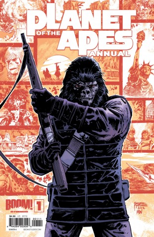 Planet of the Apes Annual 1 (BOOM! Studios)