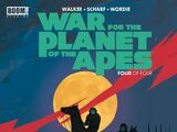 War for the Planet of the Apes: Issue 4
