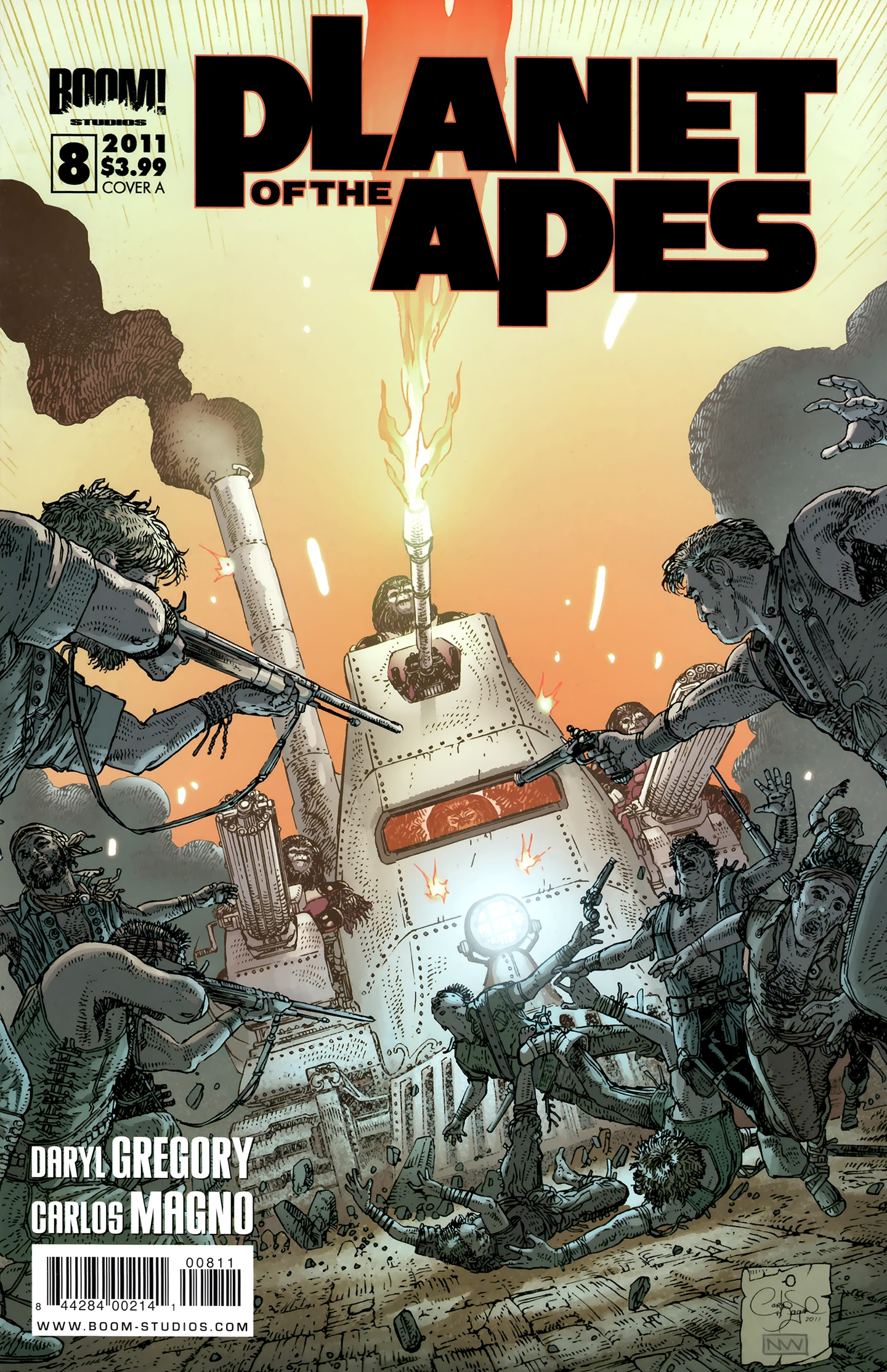 Planet of the Apes (BOOM! Studios) 8