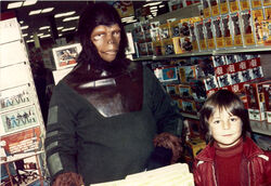 A Mego promotional appearance from 1975 (photo from 'Scott W', taken from PlaidStallions.com)
