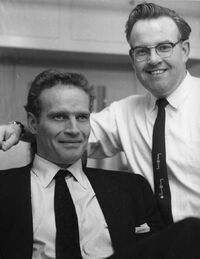 John Chambers with Charlton Heston