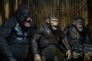 NECA Dawn of the Planet of the Apes series 2