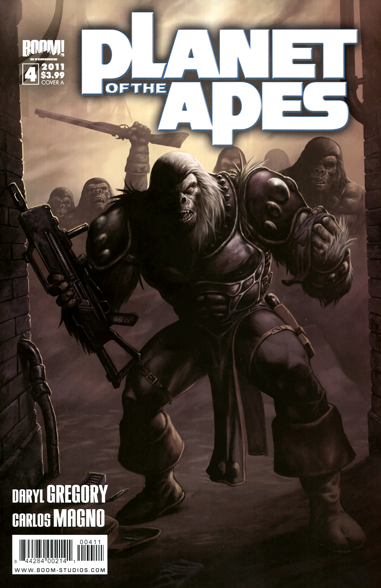 Planet of the Apes (BOOM! Studios) 4