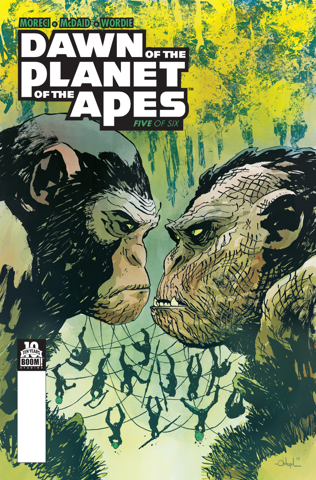 Dawn of the Planet of the Apes: Issue 5