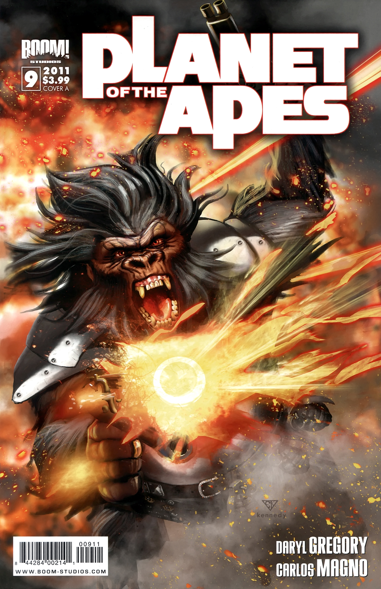 Planet of the Apes (BOOM! Studios) 9