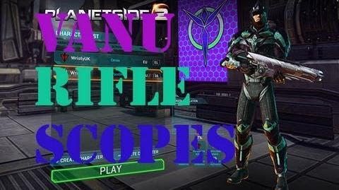 Planetside 2 Vanu Rifle Sights & Scopes-1