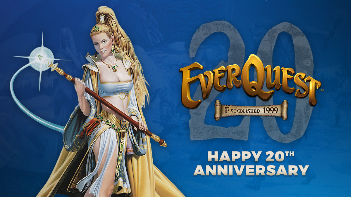 EverQuest's 20th Anniversary Event
