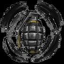 Frag Armor Decal