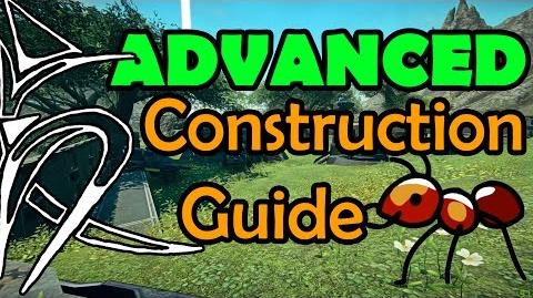 Advanced construction system guide