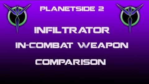Vanu Infiltrator Weapons In-Combat Comparison - Planetside 2-0