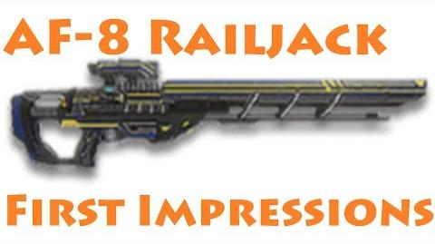 Planetside 2 AF-8 Railjack First Impressions