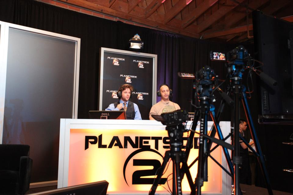 Yaviey/Celebrities at PlanetSide 2 Ultimate Empire Showdown
