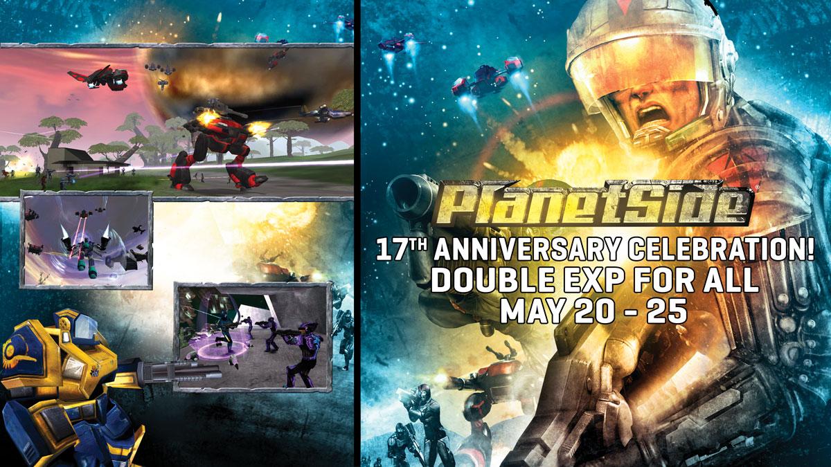 Bloodhit111/PlanetSide Celebrates 17 Years on Auraxis!