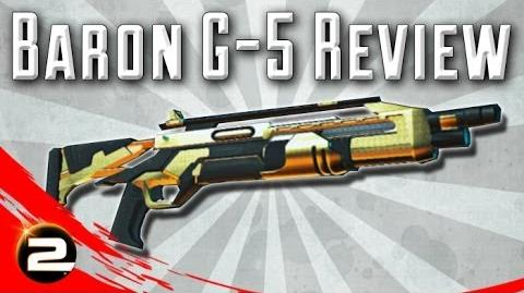 Baron G5 (in-depth) Weapon Review - PlanetSide 2