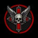 Classic Skull Cross Decal TR