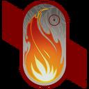 Burning Resolve Decal TR