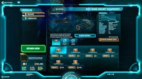 PlanetSide 2 - New ESF Weapon - PTS 06.08