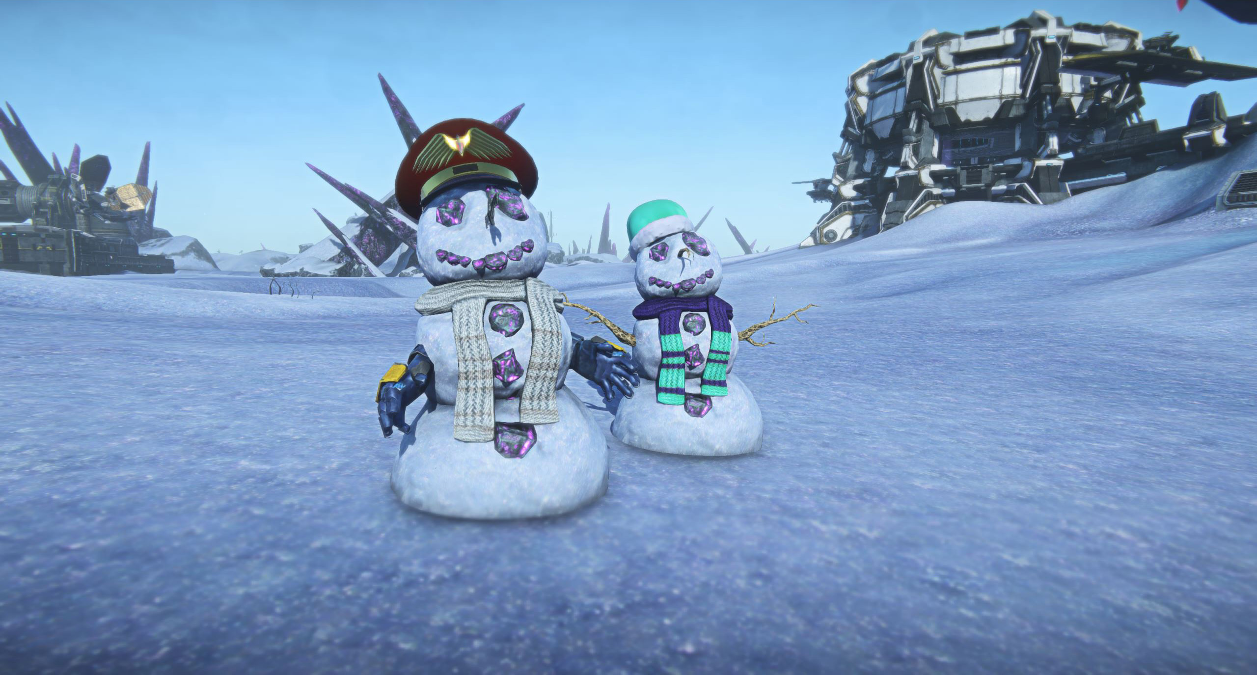 Bloodhit111/Snowy Soldiers are Heading to Auraxis!