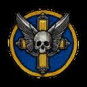 Classic Skull Cross Decal NC
