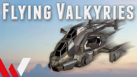 Flying Valkyries, an Introduction (Planetside 2 Tips and Gameplay)