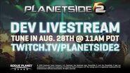 PlanetSide 2 The Shattered Warpgate Teaser