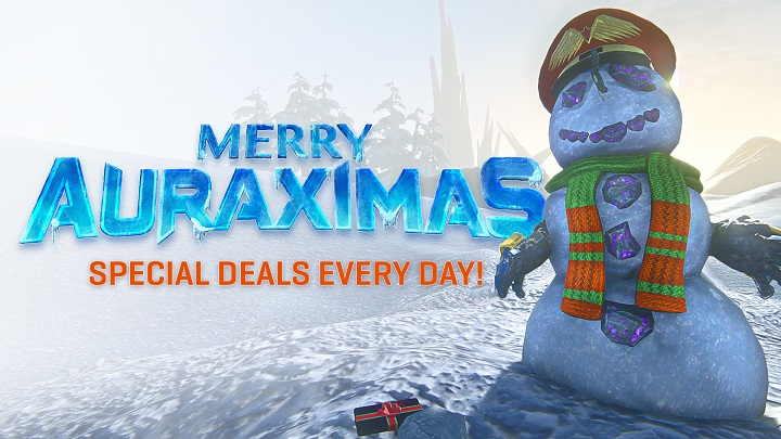 Bloodhit111/31 Days of Deals - Auraximas is Here!