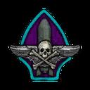 Classic Skull Wing Decal VS