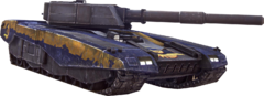 Render of the Vanguard from PlanetSide 2