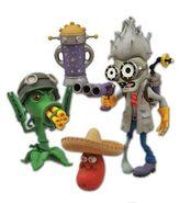 0003844 plants-vs-zombies-garden-warfare-select-scientist-zombie-vs-gatling-pea-dlx-action-figure-2-pack 300