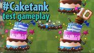 PvZ2 - Caketank - Unfinished Gameplay - Beta 7.3