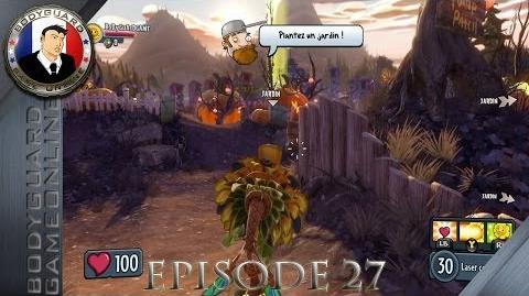 Plants vs Zombies Garden Warfare Let's Play Épisode 27 Jeu Rigolo Objectif 100