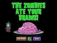 Shield zombie eat