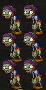Mini-game Roller Zombie Barrel O2