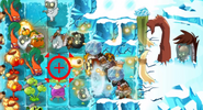 Attack Tuskmaster iceblock