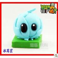 New-Arrival-Plants-vs-Zombies-2-Its-About-Time-action-figures-car-decorations-Iceberg-Lettuce-pvc