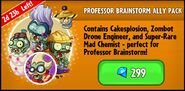 Professor Brainstorm Ally Pack Promotion