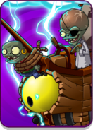 Zombot Plank Walker in Electric Level Icon
