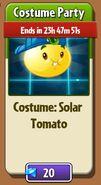 Solar Tomato Costume in Store