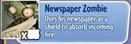 Newspaper Zombie gw