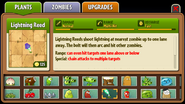 Lightning Reed Almanac Entry